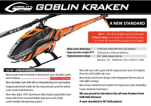 Goblin 700- KRAKEN